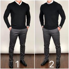 Style men things to wear mens fashion sweaters, mens fash Mens Fashion Sweaters, Mens Fashion Suits, Sweater Fashion, Casual Sweaters, Mens Sweater Outfits, Mens Dress Outfits, Man Outfit, Men Sweater, Business Casual Men