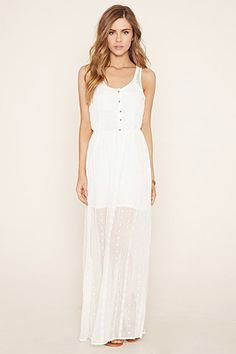 Embroidered Ensemble Maxi Dress