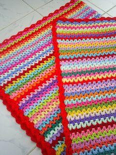 v-stitch babyblanket | Flickr - Photo Sharing!