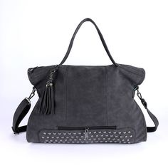 Rivet Nubuck Leather Women Fashion Bag //Price: $41.99 & FREE Shipping //     #style