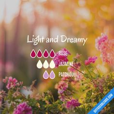 Light and Dreamy - Essential Oil Diffuser Blend