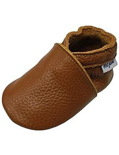 3a38507b9b3 Baby Infant Toddler Shoes Slip-on Soft Sole Leather Moccasins Pre-Walkers