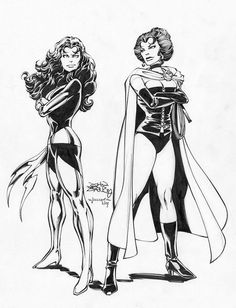 Marvel Comics of the 1980s: 1979-80 - John Byrne's X-Men sketches