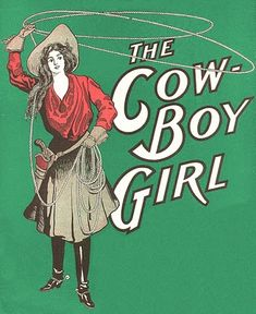 Free Vintage Clip Art - Cowgirl + Cowboy Ledger Page - The Graphics Fairy