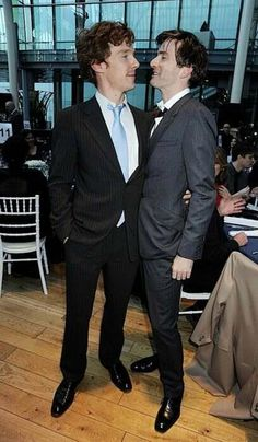 benedict cumberbatch & david tennant....just tie a bow around them and ship them to me