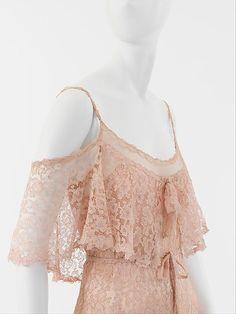 Up Close: Evening Dress Coco Chanel c.1930