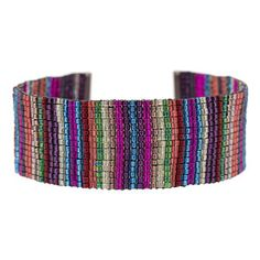 bead weaving patterns for bracelets Bead Embroidery Patterns, Seed Bead Patterns, Beaded Embroidery, Beading Patterns, Beading Ideas, Beading Supplies, Art Patterns, Mosaic Patterns, Color Patterns