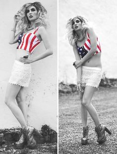 Americana (by Audrey Kitching) http://lookbook.nu/look/3692219-Americana