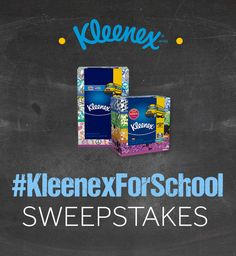 Enter #KleenexForSchool and #SchoolSweepstakes by sharing a photo with your Kleenex Walmart Back to School pack! You could win $4,000 to split between you and your school. Enter now!