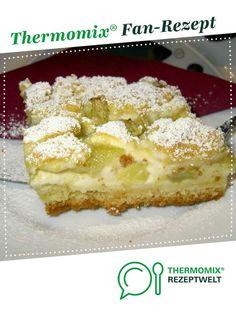 Rhabarber-Zupfer mit Quarkcreme von Tanja2004. Ein Thermomix ® Rezept aus der Kategorie Backen süß auf www.rezeptwelt.de, der Thermomix ® Community.