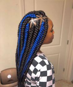 85 Box Braids Hairstyles for Black Women - Hairstyles Trends Box Braids Hairstyles For Black Women, Easy Hairstyles For Medium Hair, Braided Hairstyles For Black Women, African Braids Hairstyles, Braids For Black Women, Braids For Black Hair, Black Girl Braids, Girls Braids, Girl Hairstyles