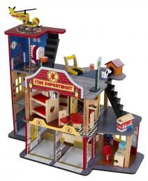 Finally - a doll house geared for boys.  We've had this for about 1 1/2 years and it's still played with heavily.