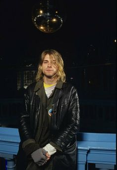 Kurt Cobain, London 1991