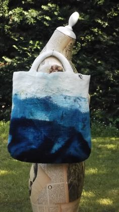 nuno felted handbag by colortherapy