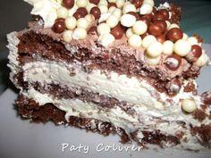 Culinária-Receitas - Mauro Rebelo: Bolo Mousse de Chocolate Branco