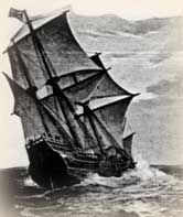 Mayflower Sailed, Taking Pilgrims to New England - 1601-1700 Church History Timeline