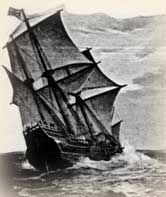 Mayflower Sailed, Taking Pilgrims to New England - 1601-1700 Church History Timeline