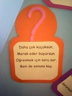 Kızımın öğretmeni çocuklarımızın derslerdeki performansını arttırmak için noktalama işaretlerini öyle farkı bir yöntemle sınıfta sunmuş ki d... Math For Kids, Crafts For Kids, Turkish Lessons, Presents For Teachers, Turkish Language, School Counselor, Primary School, Kids Education, Preschool