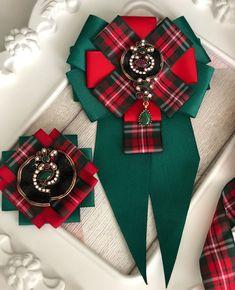 Комплект галстук-брошь и брошь «ШОТЛАНДСКАЯ КЛЕТКА» - купить или заказать в интернет-магазине на Ярмарке Мастеров | Комплект галстук-брошь и брошь ручной…