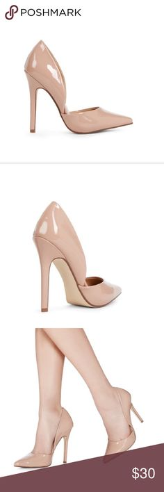 Nude Pumps 4.5 inches Size 10... Brand New Never Worn.... Too high for my liking! JustFab Shoes Heels