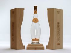 Wood Packaging for Luxury Wine - Domaines Ott Millesime.    wood packaging