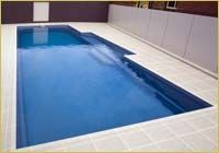 DIY fibreglass pool kits - contemporary pool range