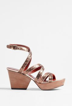 Glitter Straps Wedge Sandal by Marc By Marc Jacobs