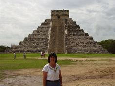 Amazing at the pyramids in Mexico at Chichen Itza while on our 20th Anniversary cruise to Cozamel.