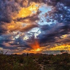 Arizona desert...painted by God!