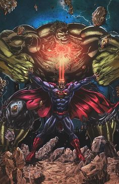 #Superman vs #Hulk