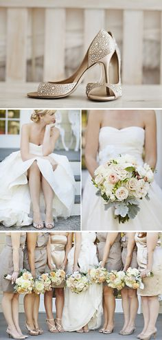 Essential Things For Beige Bridesmaid Dress Champagne Wedding Parties 96 - sitihome Beige Bridesmaids, Champagne Bridesmaid Dresses, Wedding Dresses, Women's Dresses, Wedding Poses, Wedding Themes, Wedding Colors, Wedding Parties, Wedding Ideas