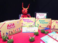 August 2014: Felix relaxing in his element at Book Expo Australia