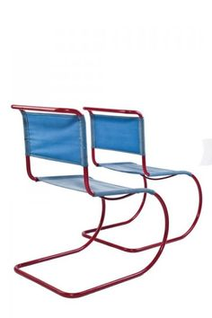 Ludwig Mies van der Rohe - 2 chairs – Central Europe, 1st third of 20th century
