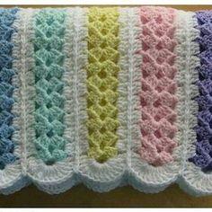 Custom Listing For Mary O'Brien, Crochet Bobble Blanket, Baby Blanket by WishWantDesire on Etsy Crochet Afghans, Crochet Baby Blanket Free Pattern, Afghan Crochet Patterns, Baby Knitting Patterns, Crochet Yarn, Easy Crochet, Crochet Stitches, Baby Afghans, Crochet Toys