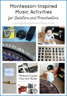 There's SO MUCH you can do with music in Montessori education. I can't cover it all here, but I do want to share some of the main ways you can explore music with toddlers and preschoolers either in the classroom or at home.