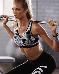 Fitness and fashion game strong: it's how Angels roll. | Victoria's Secret Sport
