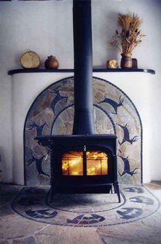 tile wood stove surround | Murals: Ceramic Tile Murals,Tile Murals,Hand Painted Ceramic Tile