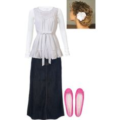 """""""Modest Outfit 31"""" by christianmodesty on Polyvore"""
