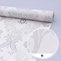 SimpleLife4U Vintage Gray Damask Removable PVC Shelf Drawer Liner Home Decor 17x118 Inch SimpleLife4U http://www.amazon.com/dp/B013V6AXXS/ref=cm_sw_r_pi_dp_L-b0vb0618GEA