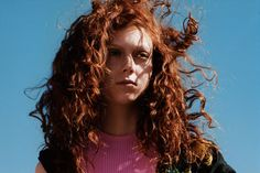 Natalie Westling Dress MSGM. T-shirt (worn underneath) Ed Hardy. Photography Theo Wenner