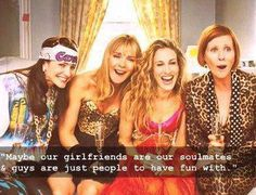 Life lessons from Sex and the City #sisterhood #friends