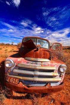 Rusty Dodge Truck. Source Facebook.com