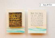 susnet 2 550x382 DIY Tutorial: Palm Springs Mod Watercolor Save the Date