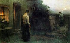 J. Schikaneder: Poslední pomazání (1897)