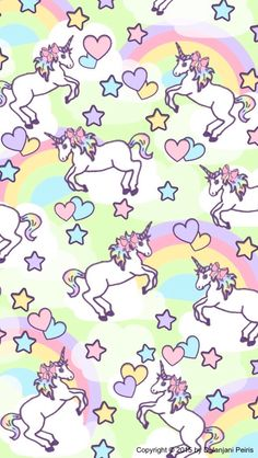 Unicorn rainbow emoji kawaii cute love pink diy