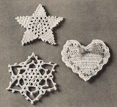 Google Image Result for http://static.artfire.com/uploads/product/2/132/6132/5006132/5006132/large/3_crochet_christmas_ornament_patterns_star_snowflake_heart_4e6ed9ed.jpg