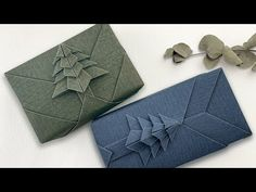 Wrapping Ideas, Present Wrapping, Creative Gift Wrapping, Creative Gifts, Christmas Origami, Christmas Gift Wrapping, Christmas Deco, Christmas Crafts, Christmas Tree
