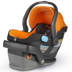 Project Nursery reviews the latest in car seat technology. We love @UPPAbaby Company Company's Mesa Infant Car Seat! #babygear