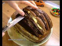 Торт Машинка - видео рецепт