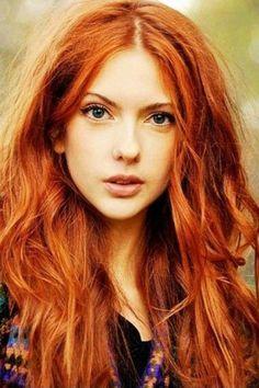 Haarfarben Trend: Kupfer